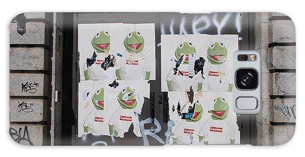 N Y C Kermit Galaxy Case by Rob Hans