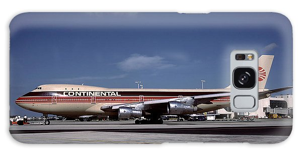 N17011, Continental Airlines, Boeing 747-143 Galaxy Case