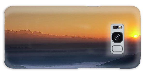 Nagarkot Sunrise Galaxy Case