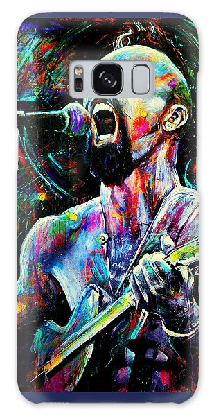 Abstract People Galaxy Case - Nahko by Robyn Chance