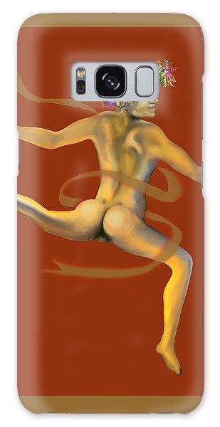 Naked Dancer Galaxy Case