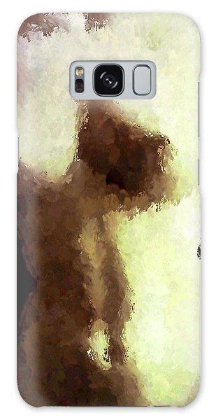 Naked Female Torso  Galaxy Case