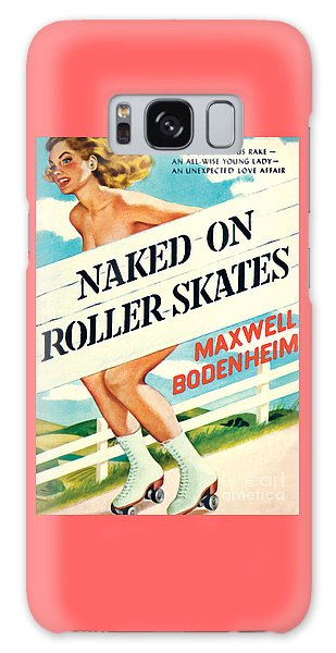 Naked On Roller Skates Galaxy Case