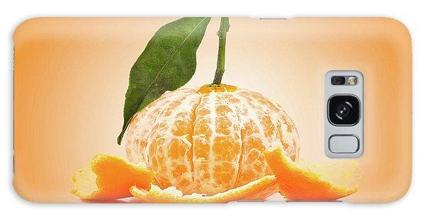 Naked Orange Galaxy Case