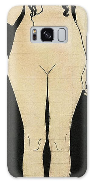 Decorative Galaxy Case - Naked Truth by Gustav Klimt