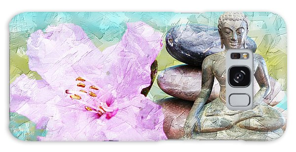 Namaste Buddha Galaxy Case