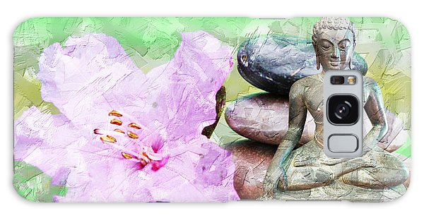 Namaste Buddha. V2 Galaxy Case