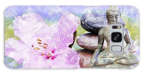 Namaste Buddha. V3 Galaxy Case