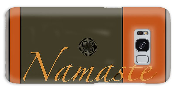 Namaste Galaxy Case by Kandy Hurley