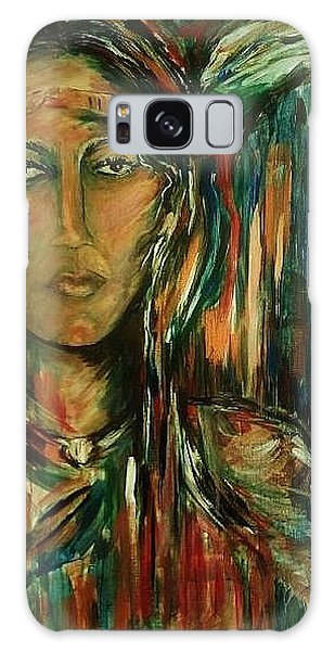 Nancy Ward Beloved Woman Nanye Galaxy Case by Dawn Fisher