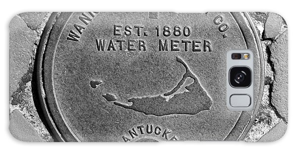 Nantucket Water Meter Cover Galaxy Case