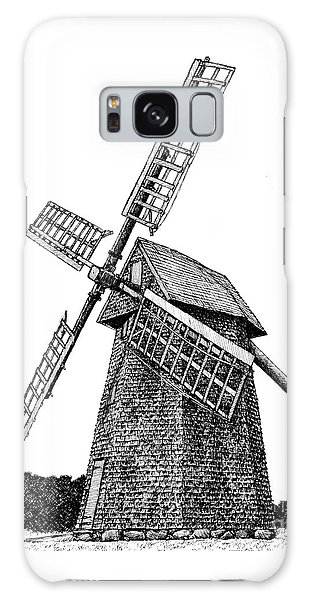 Nantucket Windmill Number One Galaxy Case