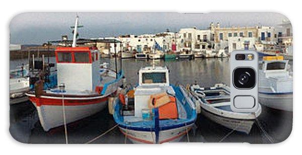 Naoussa Village Island Greece Galaxy Case