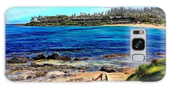 Napili Beach Gazebo Walkway Galaxy Case