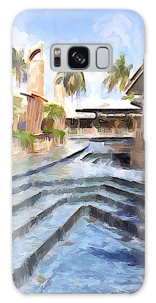 Naples Falls Shopping  Galaxy Case