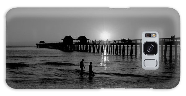 Naples Florida Pier Sunset Galaxy Case