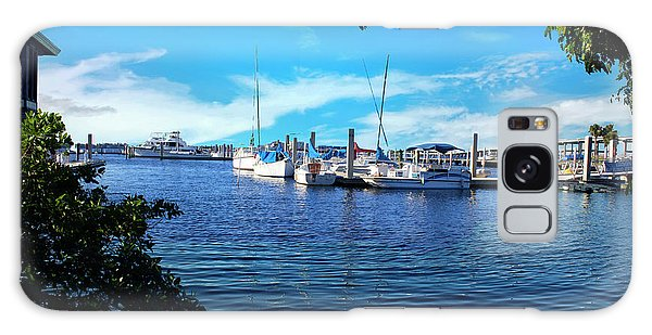 Naples Harbor Series 4054 Galaxy Case