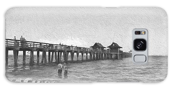 Naples Pier Galaxy Case