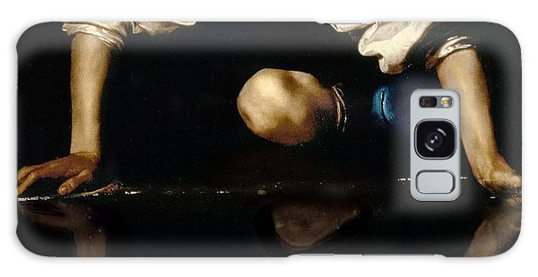 Mythological Galaxy Case - Narcissus by Caravaggio