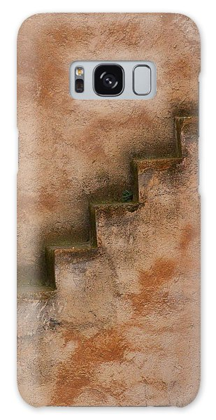 Galaxy Case featuring the photograph Narrow Stairs by Ramona Johnston