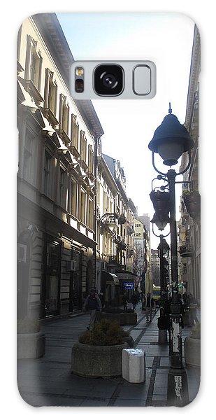 Sunny Galaxy Case - Narrow Street by Anamarija Marinovic