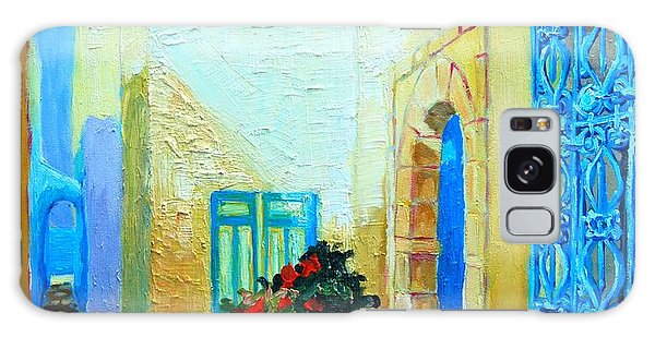 Narrow Street In Hammamet Galaxy Case by Ana Maria Edulescu