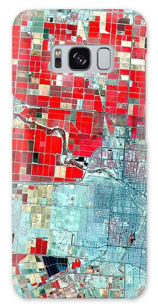 Nasa Image-us-mexico Border-2 Galaxy Case