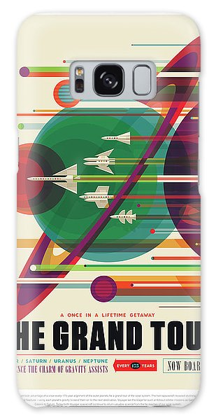 Nasa The Grand Tour Poster Art Visions Of The Future Galaxy Case
