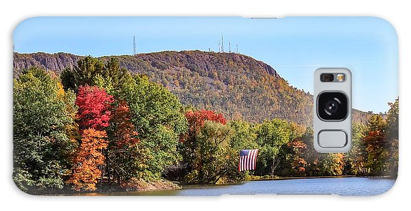 Nashawannuck Pond Fall Colors Galaxy Case