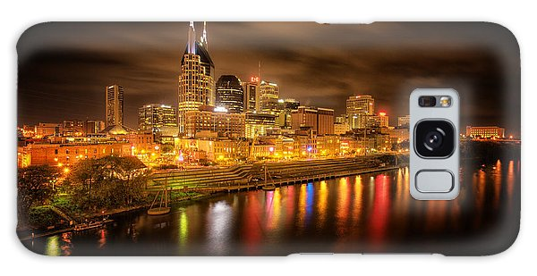 Nashville City Lights Galaxy Case