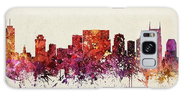 Nashville Cityscape 09 Galaxy Case by Aged Pixel