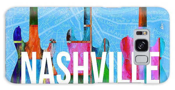 Nashville Guitars Music Scene Galaxy Case