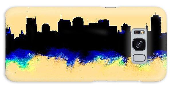 Nashville  Skyline  Galaxy Case by Enki Art