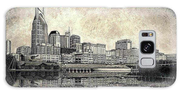 Nashville Skyline II Galaxy Case