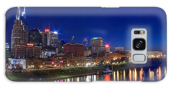 Nashville Skyline Galaxy Case