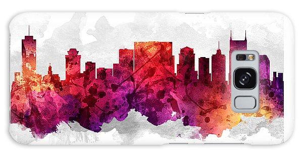 Nashville Tennessee Cityscape 14 Galaxy Case