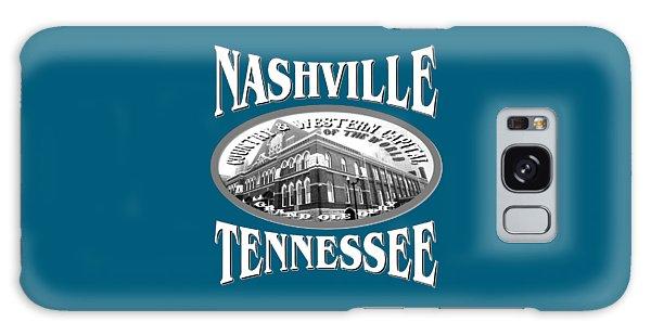 Nashville Tennessee Design Galaxy Case