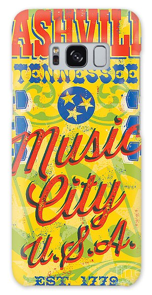 Poster Galaxy Case - Nashville Tennessee Poster by Jim Zahniser
