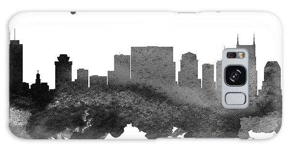 Nashville Tennessee Skyline 18 Galaxy Case by Aged Pixel