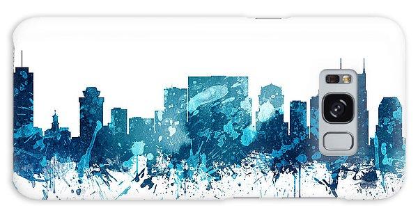 Nashville Tennessee Skyline 19 Galaxy Case by Aged Pixel