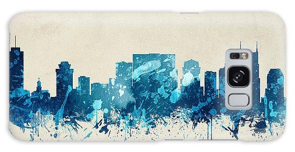Nashville Tennessee Skyline 20 Galaxy Case by Aged Pixel