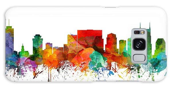 Nashville Tennessee Skyline 21 Galaxy Case by Aged Pixel