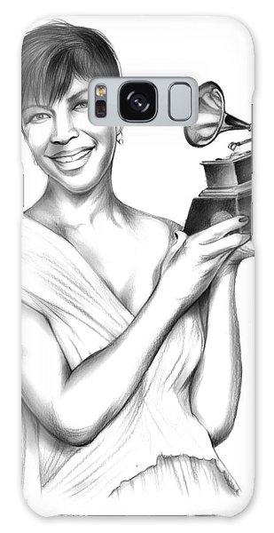B B King Galaxy Case - Natalie Cole by Greg Joens