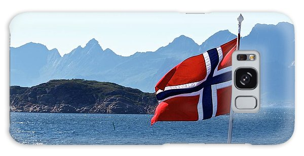 National Day Of Norway In May Galaxy Case by Tamara Sushko
