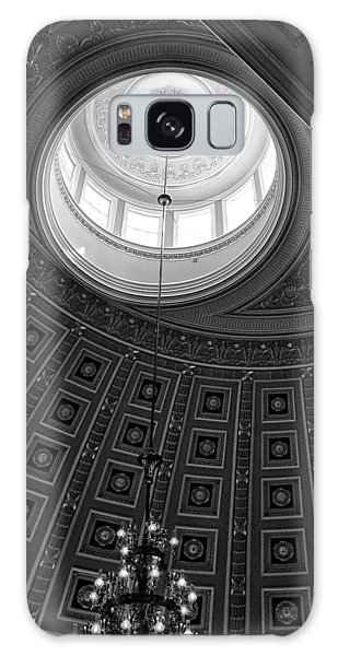 National Statuary Hall Ceiling In Black And White Galaxy Case