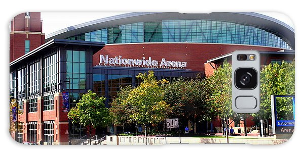 Nationwide Arena Galaxy Case by Laurel Talabere