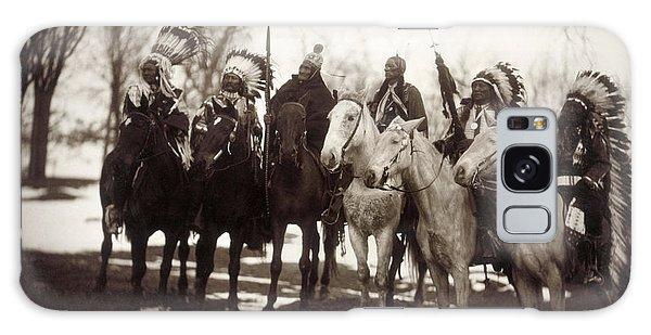 Native American Chiefs Galaxy Case