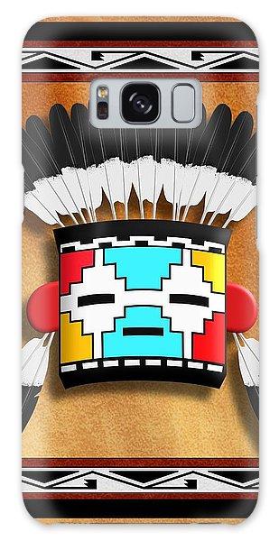 Native American Indian Kachina Mask Galaxy Case by John Wills