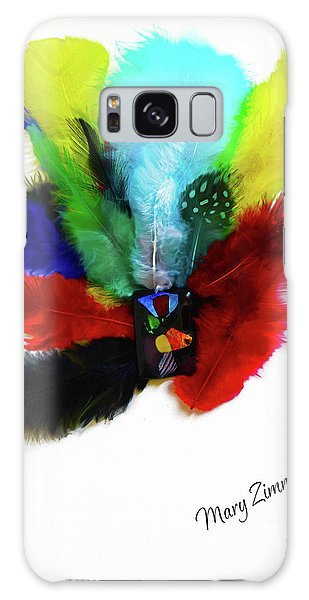 Native American Tribal Feathers Galaxy Case