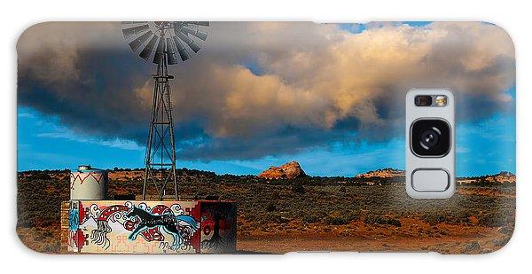 Native American Windmill Galaxy Case